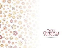 Joyeux Noël célébration fond élégant