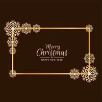 Merry Christmas festival beautiful background vector
