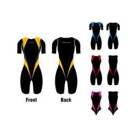 Triathlon Clothes Set