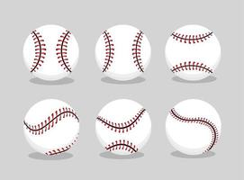 set baseball ball sport to professional team