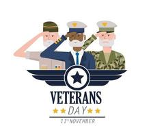 veteranen nationale dag tot leger troepen viering