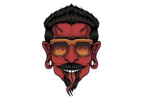 Devil Head Design