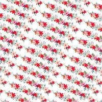 Diagonaal bloemenpatroon