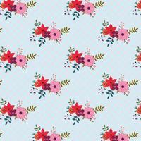 blommig bakgrundsdesign