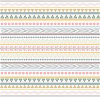 Pastel tribal background design
