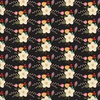 design floral do fundo