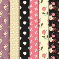 Set di design floreale