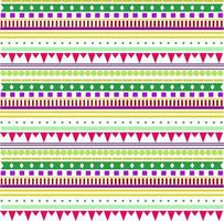Bright tribal background