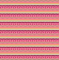 Pink and red tribal shapes pattern