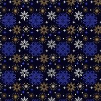 colorful snow flakes pattern design