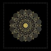 Elegant Mandala Background Design Template