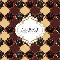 Vintage Tile Pattern vector