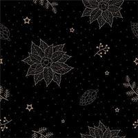 Decorative Christmas winter holiday pattern