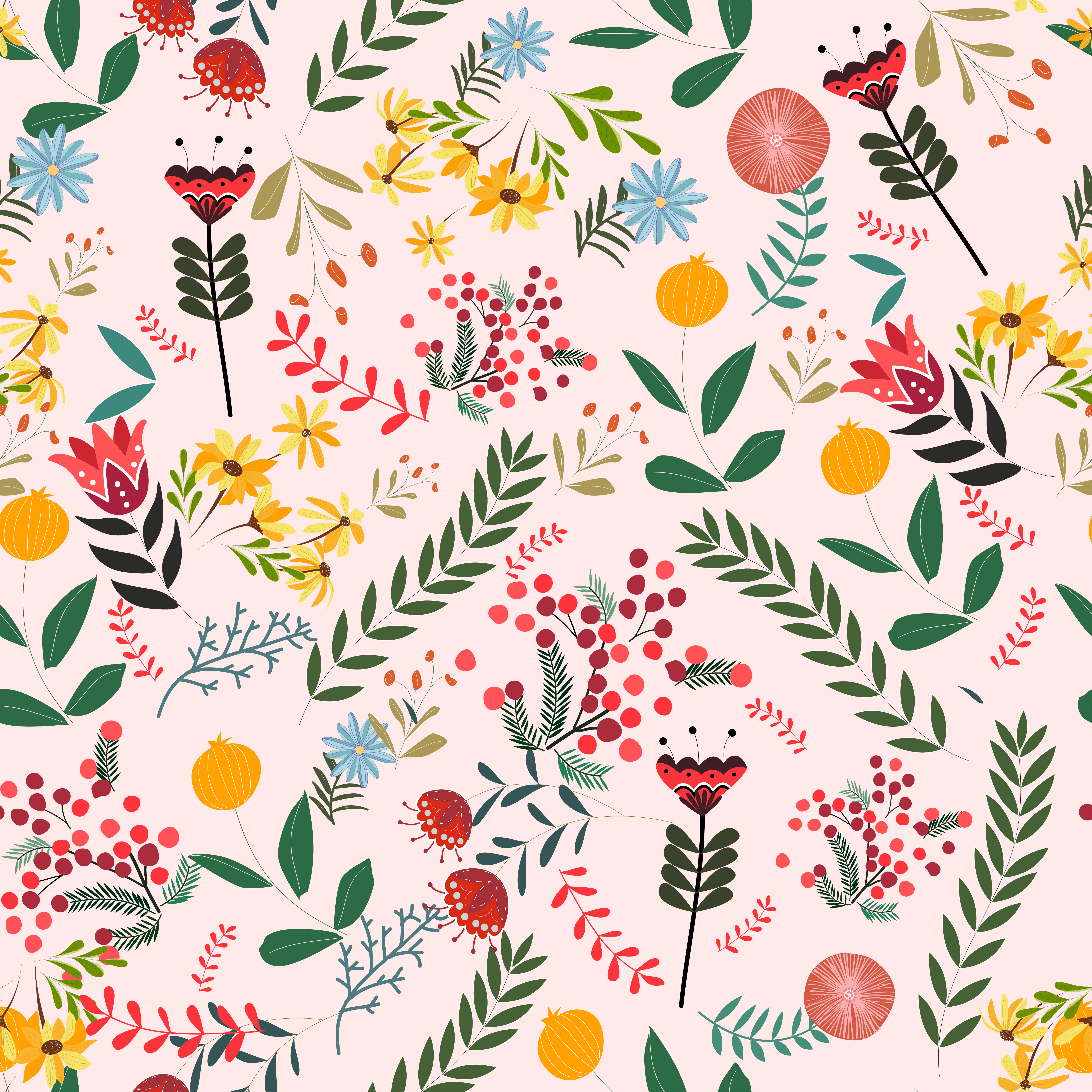 Vintage Floral Background Pattern Download Free Vectors Clipart