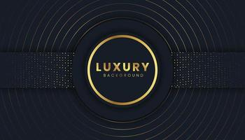 Luxury Background with Golden Glitters