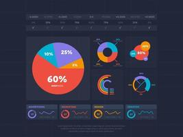 Business infographics indexering koncept