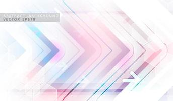 Abstract technology arrow background