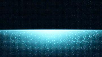 Fondo de tecnología de luz con espacio libre para texto