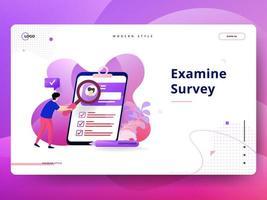 Landing Page-Umfrage überprüfen