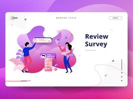Landing Page Review Survey