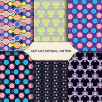 Pastell cirkel dekoration mönster