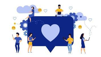 Sociala medier affärsidé