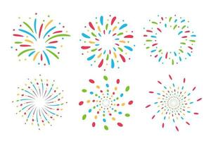 Colorful Fireworks Collection