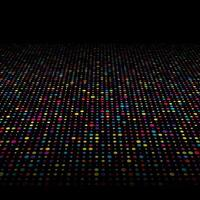 Colorful techno dots background