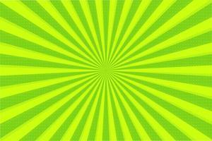 Abstracte achtergrond van groene stralen