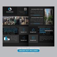 Black Modern Business Brochure Design