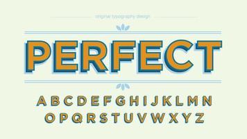 Orange Bold Uppercase Elegant Typography