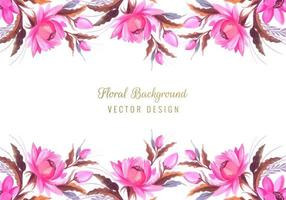 bunch floral border