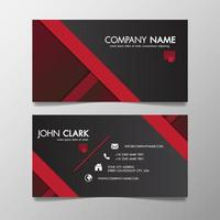 Red and black modern creative business template