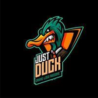 Duck character Emblem