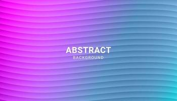 Minimal Wavy Colorful Gradient Layered Background vector