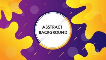 Abstract Background purple and yellow combinations vector