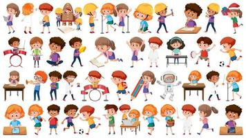 Set of student character vector