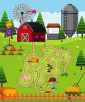 Farm puzzle game template