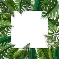 A beautiful leaf border vector