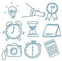 Un ensemble de symboles Doodle