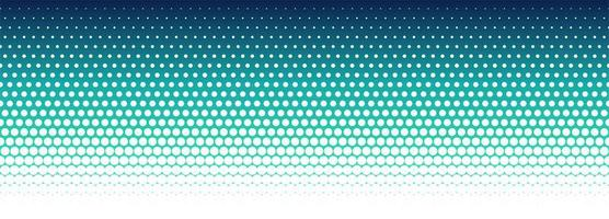Abstract colorful halftone pattern banner design