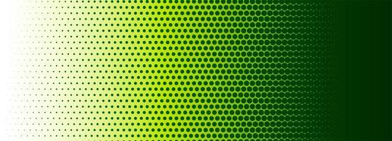 Abstract halftone colorful banner background