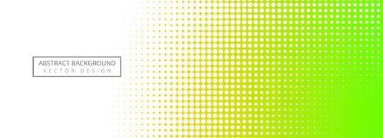 Fondo de banner colorido abstracto de semitono
