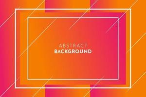 Abstract Orange Gradient Background vector