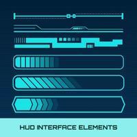 Elementi dell'interfaccia Hud