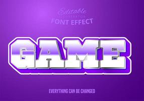 Game mettalic text, editable text style
