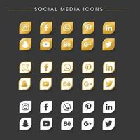 Ícones de mídia social
