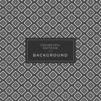 geometric pattern background square black and white vector