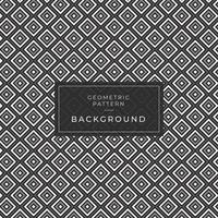 padrão geométrico fundo quadrado preto e branco