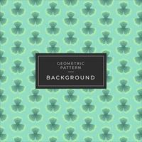 Seamless floral pattern Background with clovers